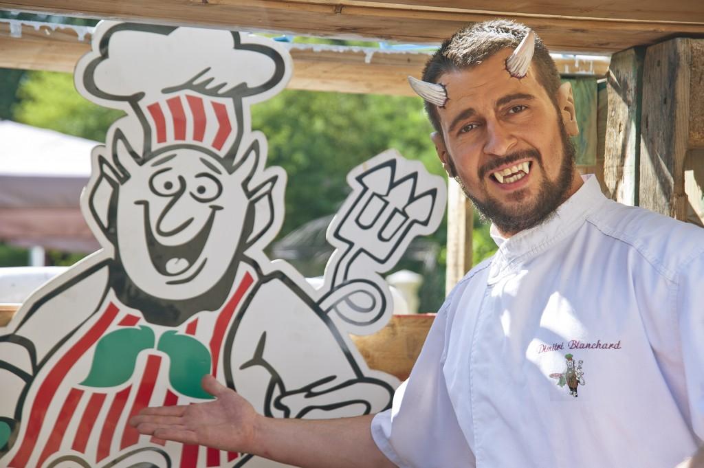 Dimitri Blanchard pizzeria Dompi