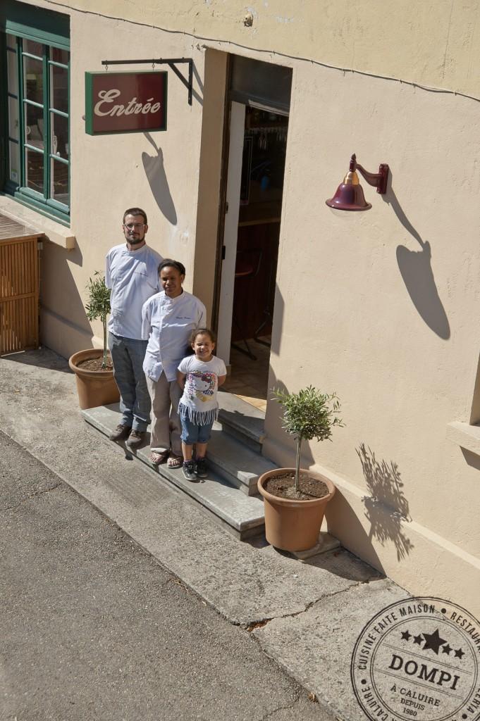 Dompi Pizzeria Caluire Famille Blanchard