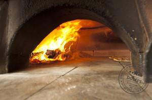 Four a bois Pizzeria Dompi Caluire