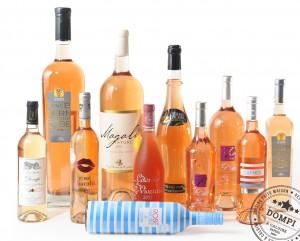 Dompi carte des vins Roses restaurant pizzeria Caluire Lyon
