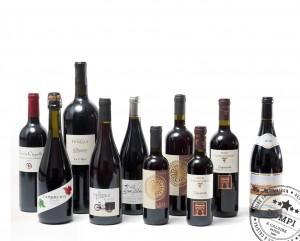 Dompi carte des vins Rouges restaurant pizzeria Caluire Lyon