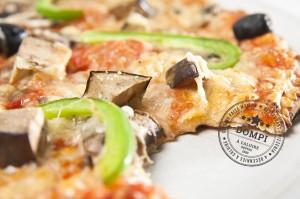 Pizza Dompi Aubergines poivrons